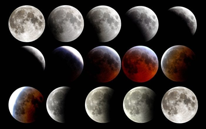 """Lunar eclipse March 2007"" by the US Navy via Wikipedia is licensed under CC0"