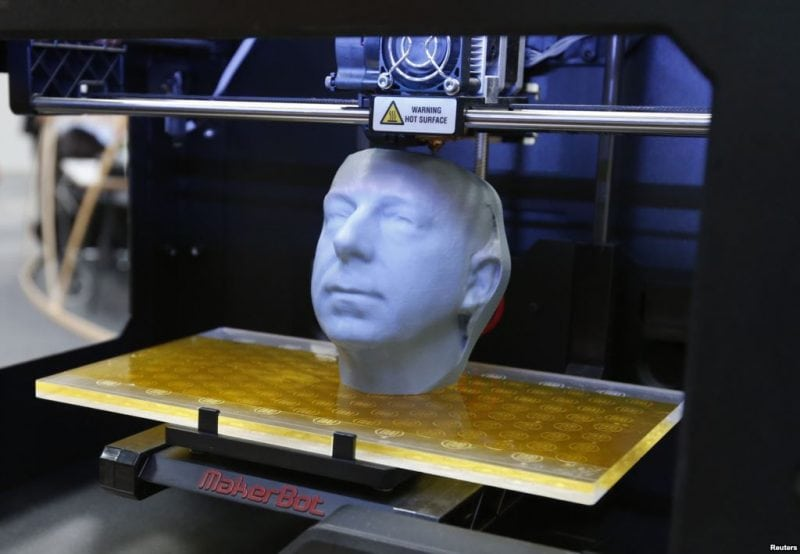 A 3D Printer in Action (Source: Elsevier)