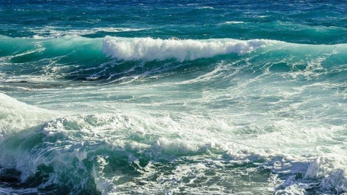Sea Landscape Nature Rocky Coast Rough Sea Waves. Credit: Maxpixel