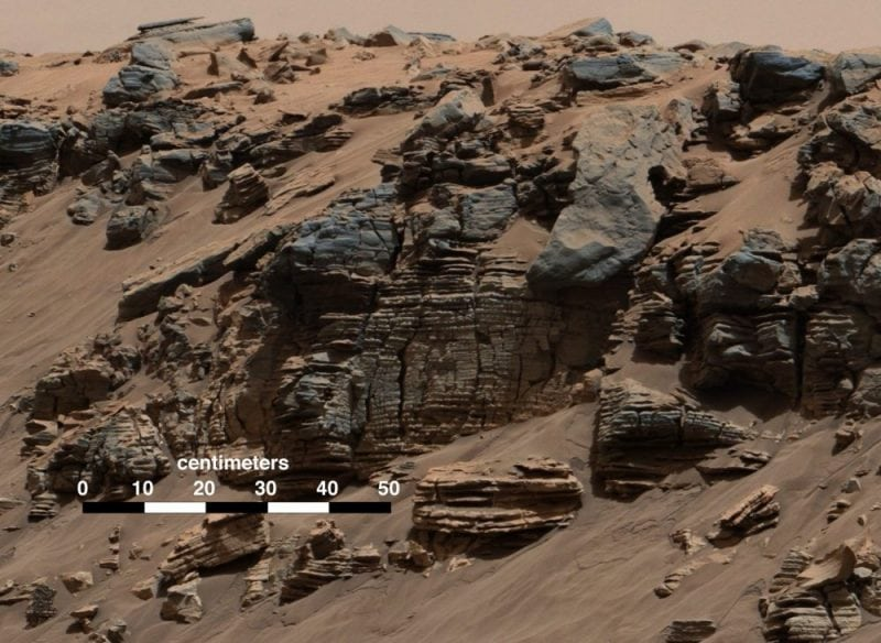 Image from NASA's Curiosity Rover (NASA)