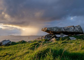 """""""Knockbrack Megalithic Tomb, Galway, Ireland"""" by Ronan Delaney (via Wikimedia Commons) is licensed under the Creative Commons Attribution-Share Alike 4.0 International license."""