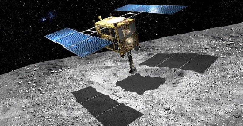 Depiction of Hayabusa 2 (NASA)