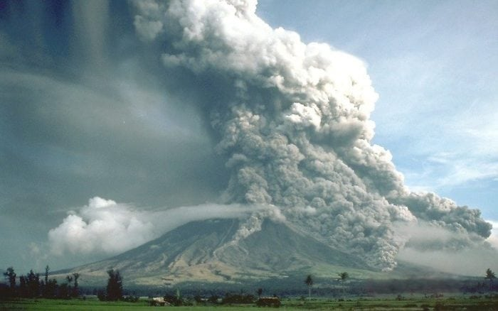 Pyroclastic flows at Mayon Volcano (Credit: Wikimedia Commons)