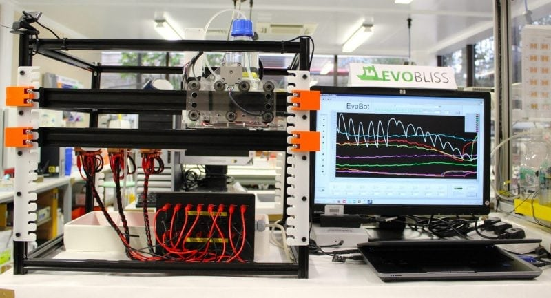 Bioelectrochemical device known as the Evobot Platform (Credit: Wikimedia Commons)