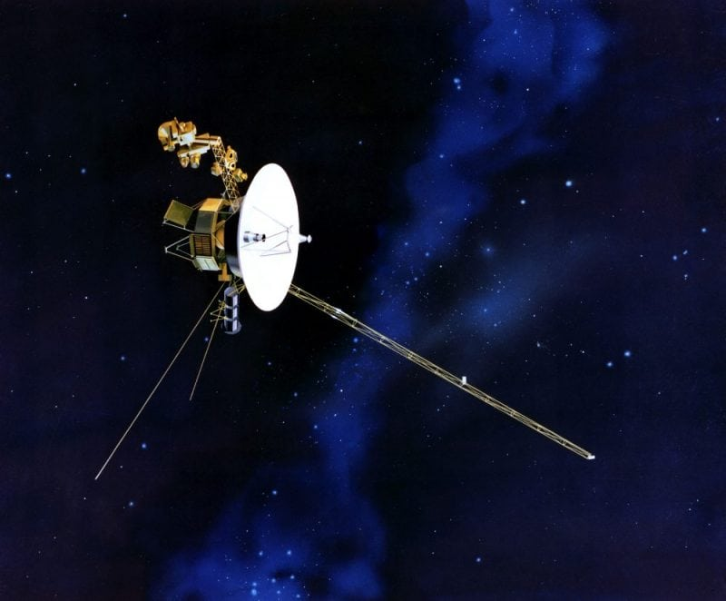 Artist's concept of NASA's Voyager 1. Credit: WikiCommons