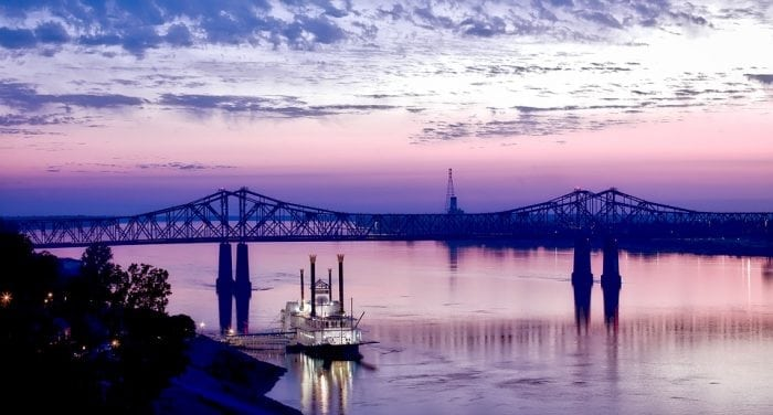 The Mississippi River (Credit: Pixabay)