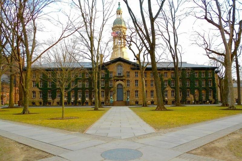 Nassau Hall on Princeton's campus. Photo: 10279 Images via Pixabay