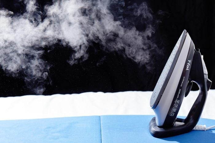 """""""steam puffs from clothing iron"""" by www.yourbestdigs.com (via Flickr) is licensed under CC BY 2.0"""