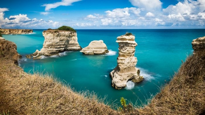 """""""Torre di S.Andrea - Puglia, Italy - Seascape photography"""" by Giuseppe Milo via Flickr is licensed under CC BY 2.0"""