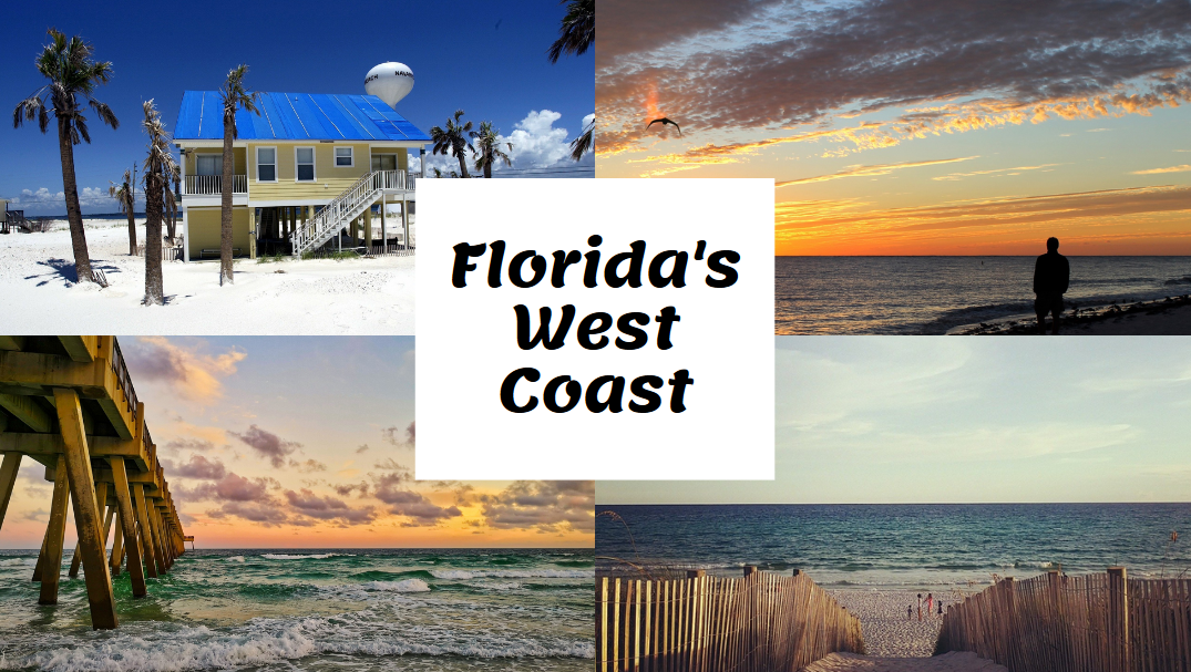 Map Of Florida West Coast Map Of Florida West Coast: Cities And Beaches | Science Trends