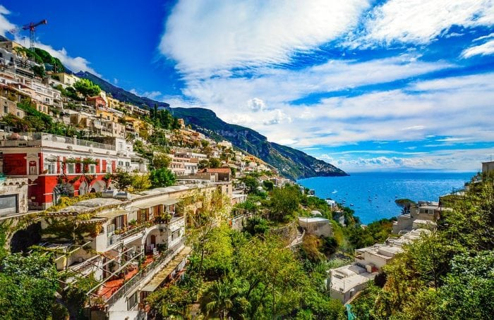 Map Of The Amalfi Coast In Italy | Science Trends