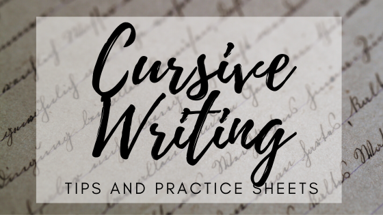 Cursive Handwriting: Tips And Practice Sheets Science Trends