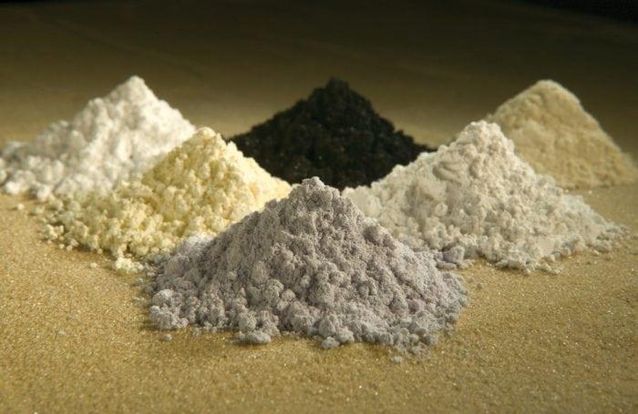 Rare Earth Elements (Credit: Wikipedia)