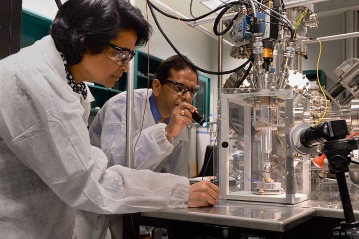 """""""Army scientist bolsters nanomaterials research with Singapore"""" by U.S. Army RDECOM (via Flickr) is licensed under CC BY 2.0"""