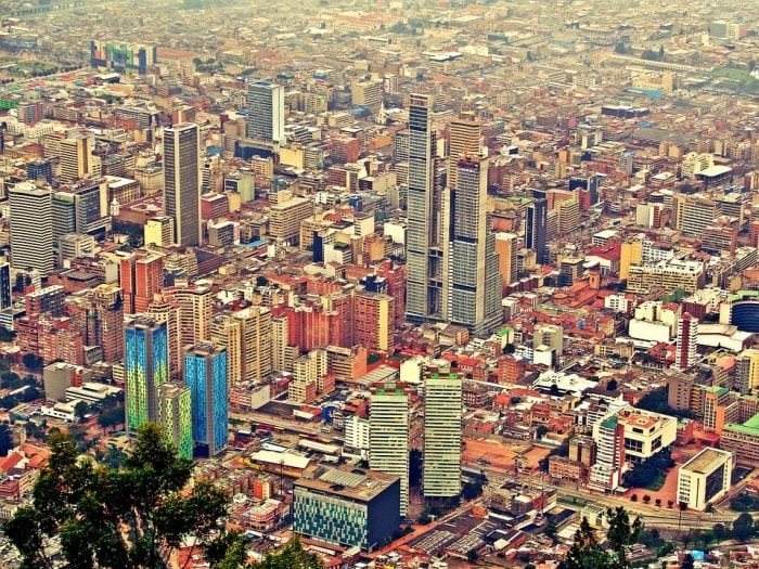"""Bogota, Colombia"" by jerzykwpodrozy via Pixabay is licensed under CC0"