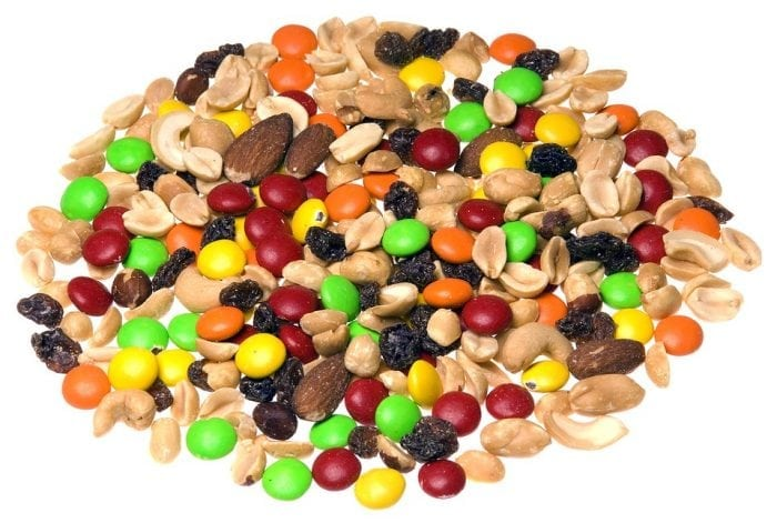 Trail mix. Image source: Pixabay.