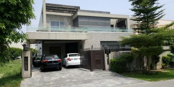 Contemporary house in Lahore, Pakistan- built 2015