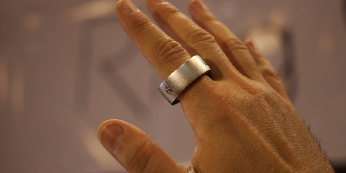 Ring Gesture Control Device for Smart Devices. Credit: Wikipedia