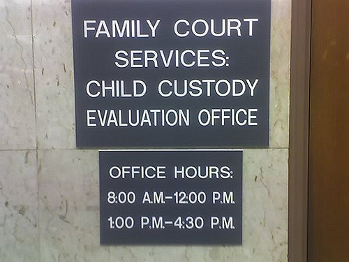 """""""Family Court""""by  lewisha1990 via Flickr is licensed under CC BY 2.0"""