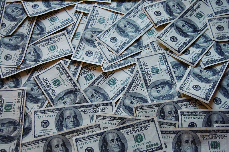 """Money Cash"" by Jericho via Wikimedia Commons is licensed under the Creative Commons Attribution 3.0 Unported license."
