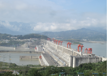 """""""The Three Gorges Dam on the Yangtze River, China"""" by Le Grand Portage via Wikimedia Commons is licensed under the Creative Commons Attribution 2.0 Generic license."""