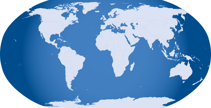 World Map: All 7 Continents And 5 Oceans | Science Trends