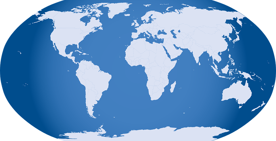World Map All 7 Continents And 5 Oceans Science Trends