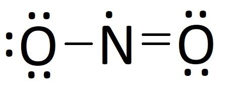 the answer is yes, this is also a valid lewis structure for nitrogen  dioxide  however, this structure is obviously different for the previous