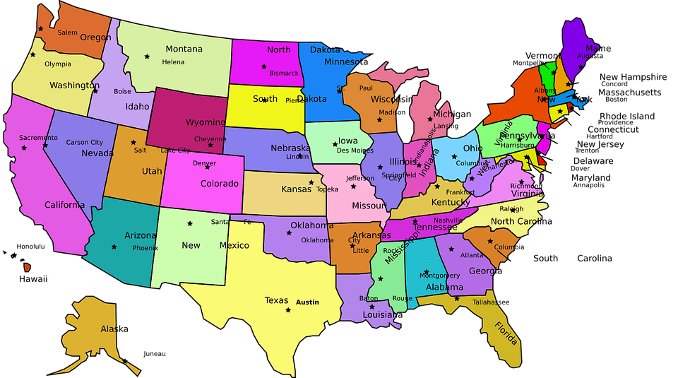 Map Of Us And Cities.How Many Cities Are Officially In The Us Science Trends